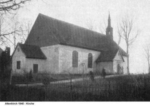 Kirche Budwethen 1940